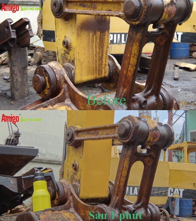Dung dịch Tẩy rửa dầu mỡ Amigo